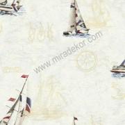 DLR47501  * Stokta Var * Yelkenli Duvar Kağıdı