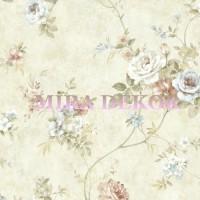 ARB67502 Lüks Çiçekli Amerika Duvar Kağıdı