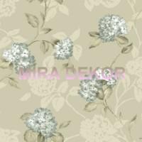 ARB67556 Lüks Ortanca Çiçekli Amerika Duvar Kağıdı