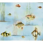 CT47572 Akvaryum Desenli Duvar Kağıdı