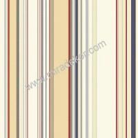 SRC58516 Renkli Çizgili Duvar Kağıdı