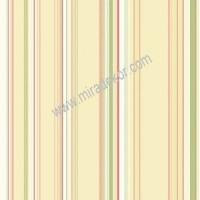 CT58519 Renkli Çizgili Duvar Kağıdı