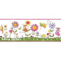 CK83151B  * Stokta Var * çiçekli bordür