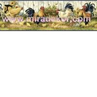 FFR24511B  COUNTRY AMERİKA DUVAR BORDÜRÜ