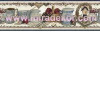 FFR65181B  COUNTRY AMERİKA DUVAR BORDÜRÜ