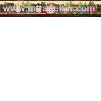 FFR65371B COUNTRY AMERİKA DUVAR BORDÜRÜ
