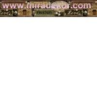FFR65402B COUNTRY AMERİKA DUVAR BORDÜRÜ