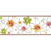 GIR94031B çiçekli duvar bordürü