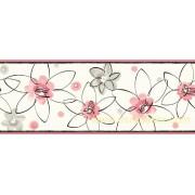 GIR94033B çiçekli duvar bordürü