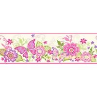 GIR94071B kelebek desenli duvar bordürü