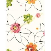 GIR95541 Çiçekli çocuk odası duvar kağıdı