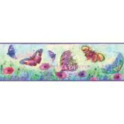 HAS01001B Kelebekli Duvar Bordürü