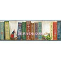 HAS01071B Erkek çocuk için kitaplı bordür