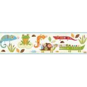 HAS01121B Sevimli hayvanlar Duvar Bordürü