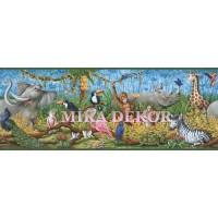 HAS01131B Sevimli hayvanlar Duvar Bordürü