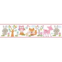 HAS01141B * STOKTA VAR * Sevimli hayvanlar Duvar Bordürü