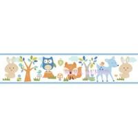 HAS01151B * STOKTA VAR * Sevimli hayvanlar Duvar Bordürü
