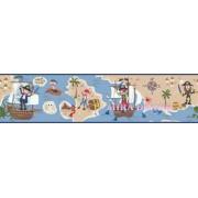 HAS01161B Korsan Desenli Duvar Bordürü