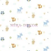 HAS01281 * STOKTA VAR * Sevimli hayvanlar desenli duvar kağıdı