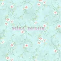 HAS54635 Çiçekli desenli bahar ferahlığı duvar kağıdı