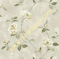 QE14031 çiçekli LÜKS AMERİKA duvar kağıdı