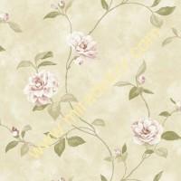 QE14032 çiçekli LÜKS AMERİKA duvar kağıdı