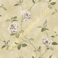 QE14033 çiçekli LÜKS AMERİKA duvar kağıdı