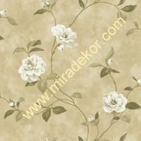 QE14034 çiçekli LÜKS AMERİKA duvar kağıdı