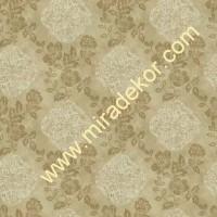 QE14121 modern çiçekli LÜKS AMERİKA duvar kağıdı