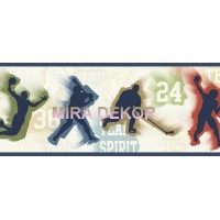 TOT46302B Spor Malzemeli Genç Odası Duvar Bordürü