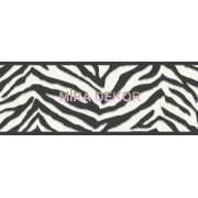 TOT46421B Zebra Desenli Genç Odası Bordür