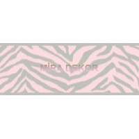TOT46422B Zebra Desenli Genç Odası Bordür