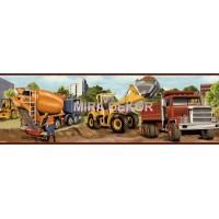 TOT46462B kamyon resimli duvar bordürü